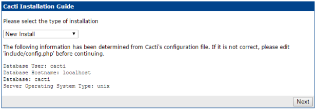 02Cacti-0.8.8h_Install Database.PNG