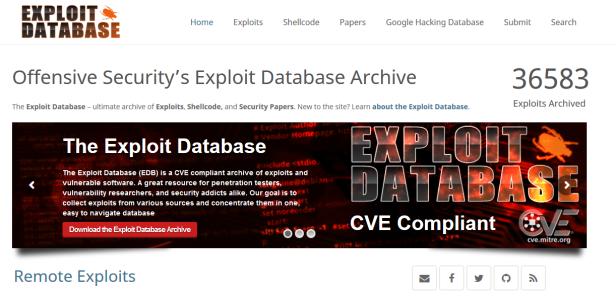 www.exploitDB.PNG